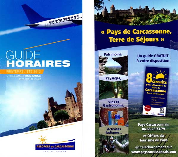 guide horaire aeroport