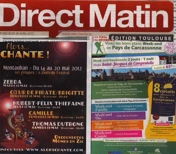pub direct matin toulouse