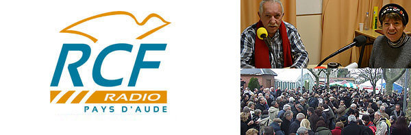 Radio RCF Pays d'Aude 103MHz